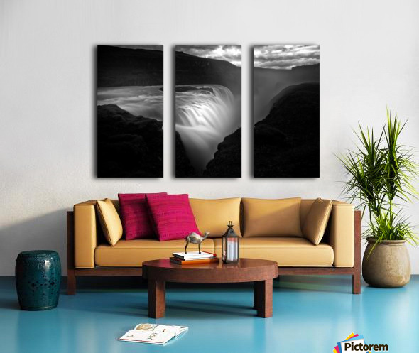 Gullfoss Split Canvas print