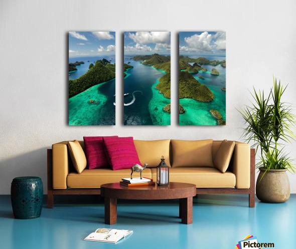 Green paradise Toile Multi-Panneaux