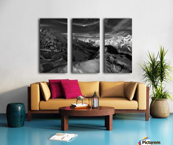 Spectrum of Light Split Canvas print