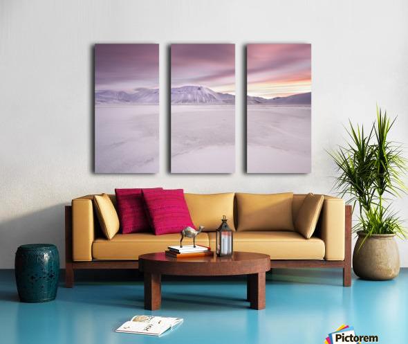 Sibillini National Park - Sunrise Split Canvas print