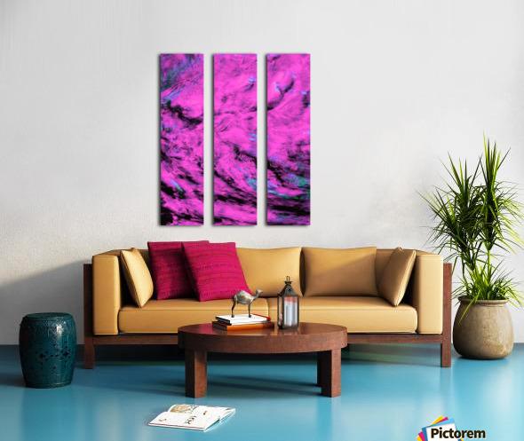 Pink Pyre Split Canvas print