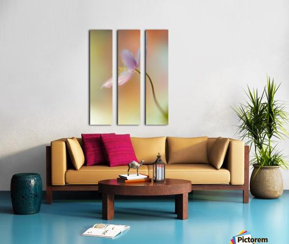 Tender spring Split Canvas print