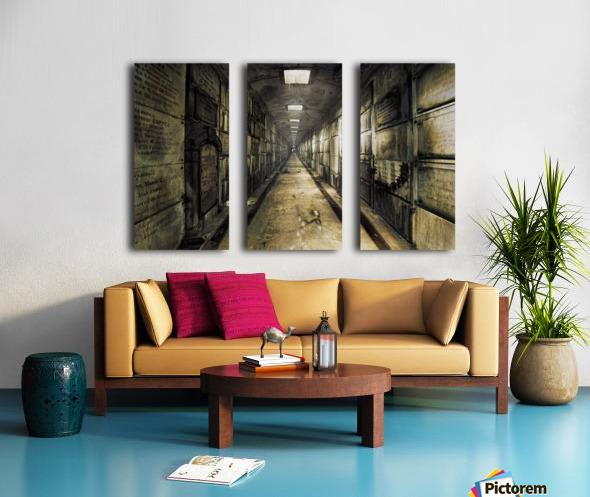 LaCrypt Split Canvas print