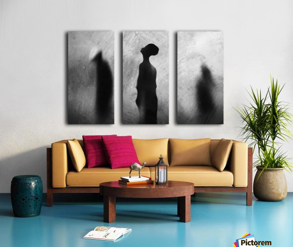 Two In One Split Canvas print