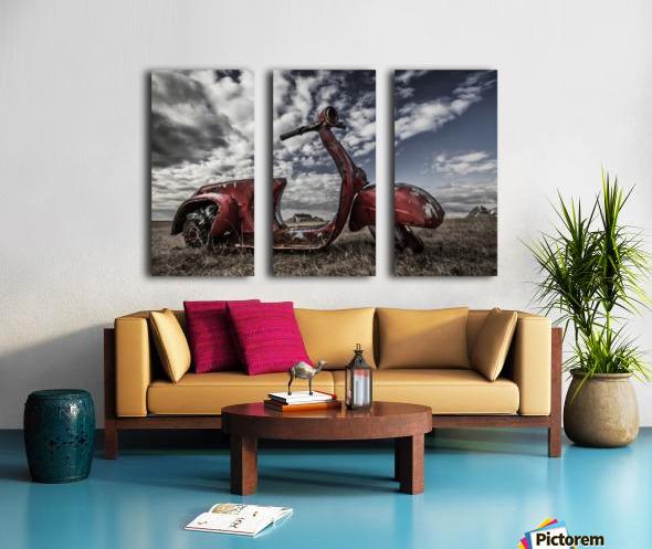 Framed Memories Split Canvas print