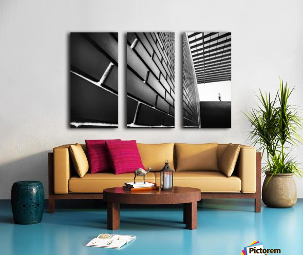 Tangles Split Canvas print