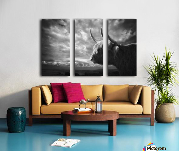 the Highlands Split Canvas print