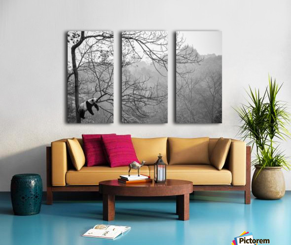 Relax Split Canvas print