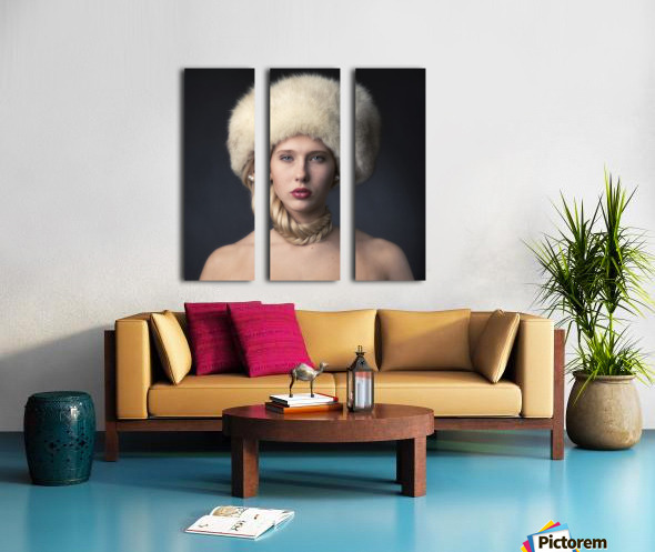 From Russia with love Split Canvas print