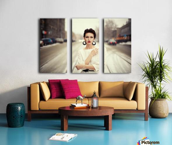 Nastya Split Canvas print