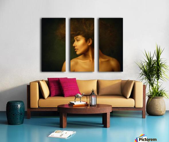 Sabina Split Canvas print