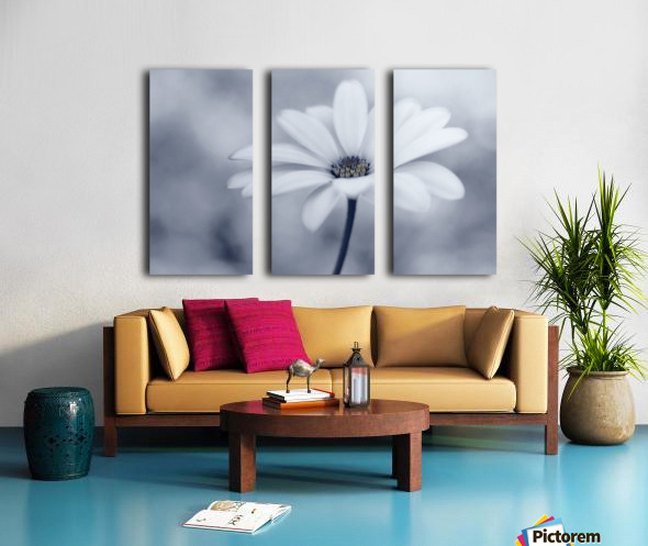 Blue tones Split Canvas print
