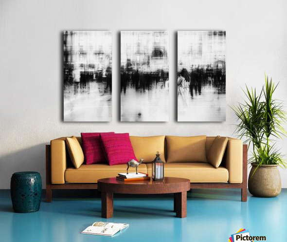 Lost among ghosts Split Canvas print
