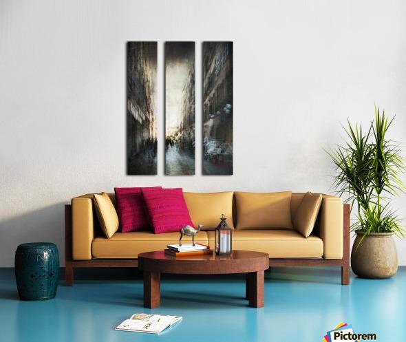 Street Split Canvas print