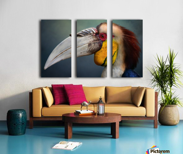 Jabrix Split Canvas print