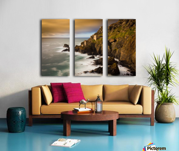 Botallack in 40 seconds Split Canvas print