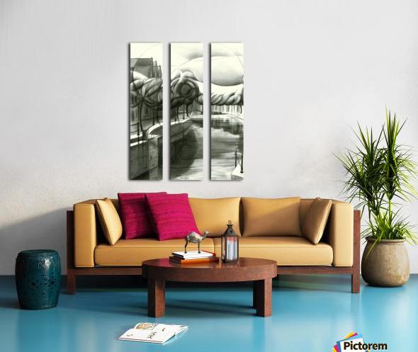 Schiedam 26-08-16 Split Canvas print