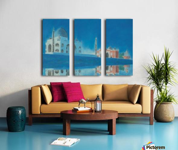 Taj. Split Canvas print