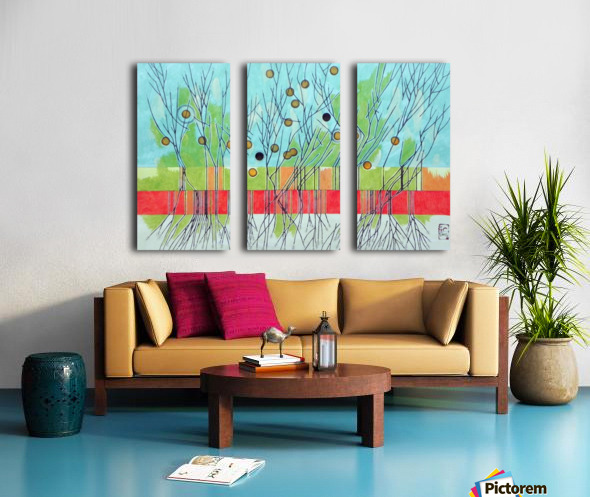 Withered tree  Split Canvas print