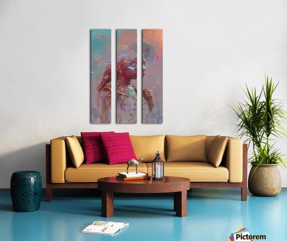 africa  Split Canvas print