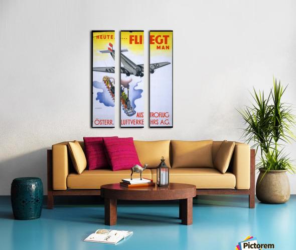 Austroflug Split Canvas print