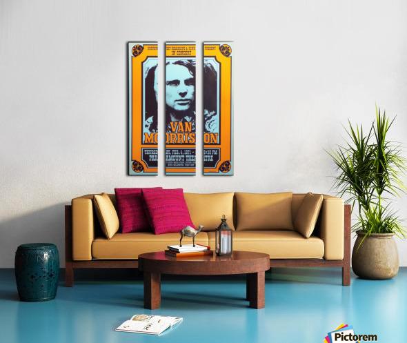 Van Morrison Split Canvas print
