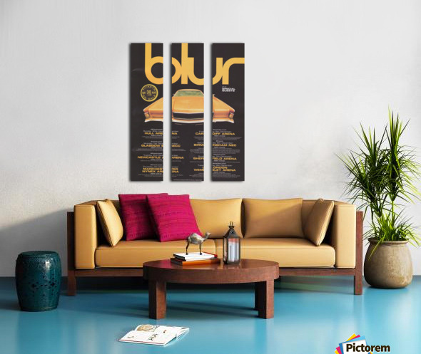 Blur Split Canvas print