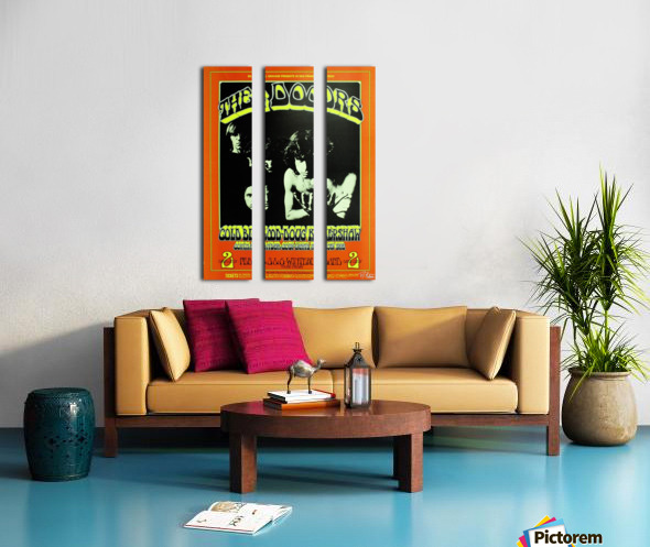 The Doors Split Canvas print