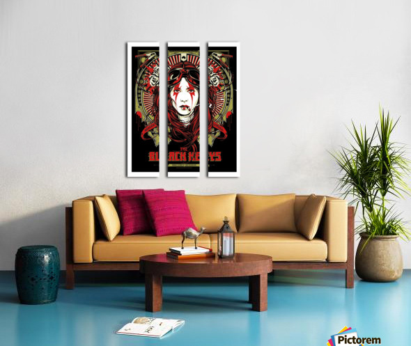 The Black Keys Split Canvas print