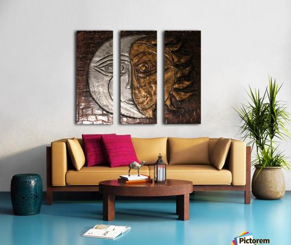 Fusion Split Canvas print
