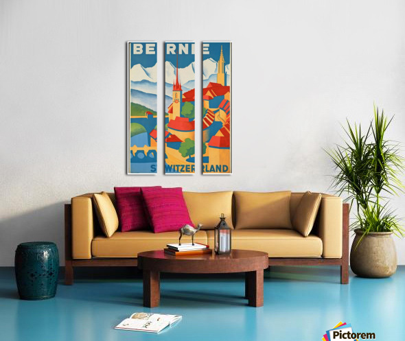 Berne Switzerland Split Canvas print