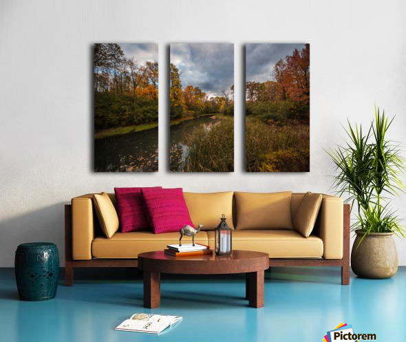 River side Split Canvas print