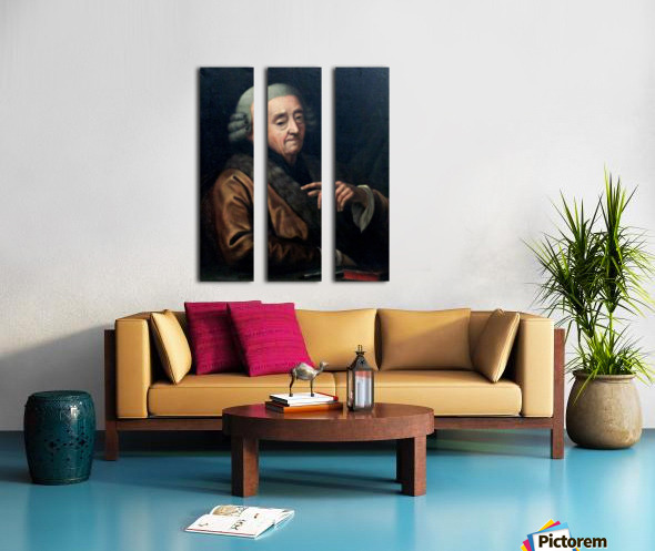 Autoportrait Split Canvas print