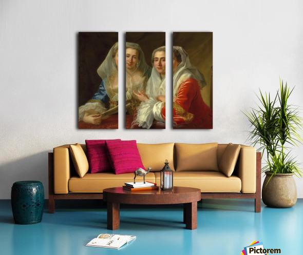 The Mirabita Sisters Split Canvas print
