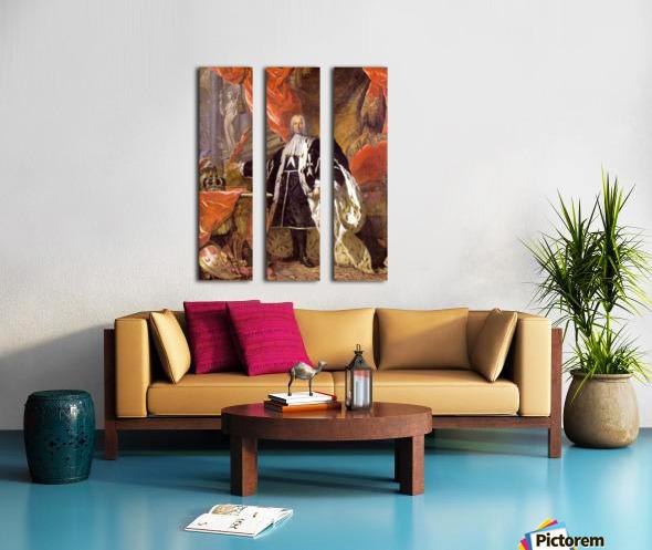 Emmanuel Pinto Split Canvas print