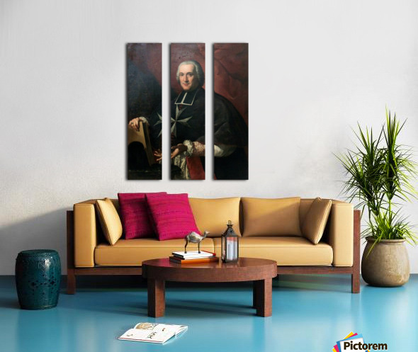 Giovanni Domenico Mainardi Split Canvas print