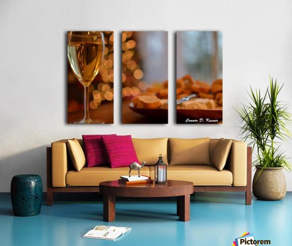 Connor Kasner Split Canvas print