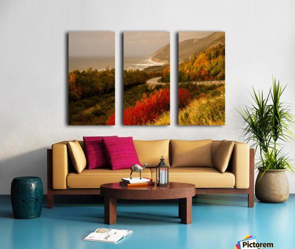 Autumn on the Cabot Trail Split Canvas print