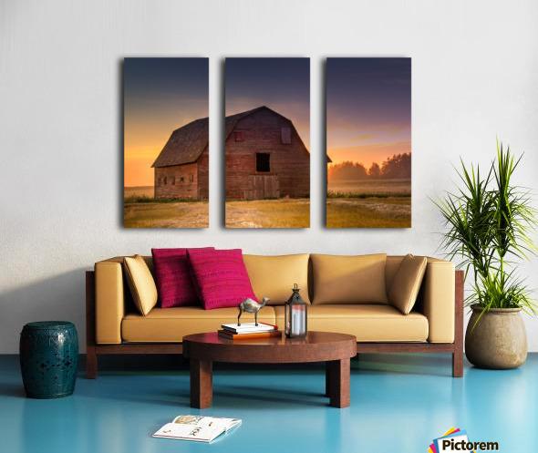Rickety Barn Split Canvas print