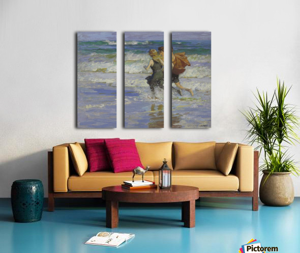 At the Beach Split Canvas print