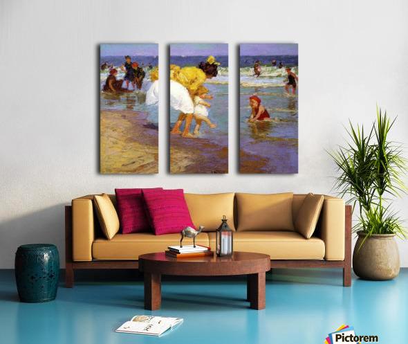 At the Seashore Split Canvas print