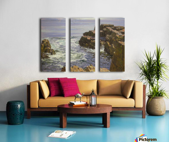The Breaking Wave Split Canvas print