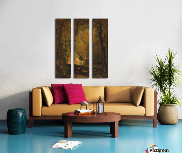 The Trout Pool Split Canvas print
