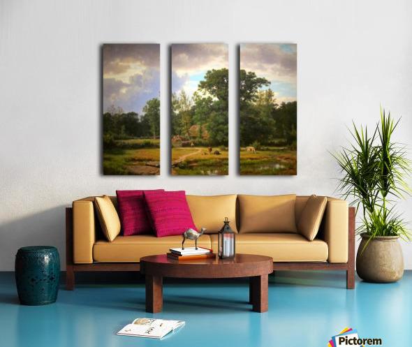 Paesaggio della Westfalia Split Canvas print