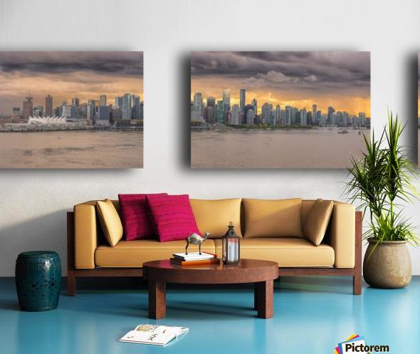 Vancouver Split Canvas print