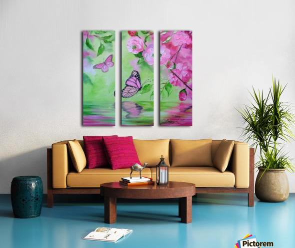 Бабочка   Split Canvas print