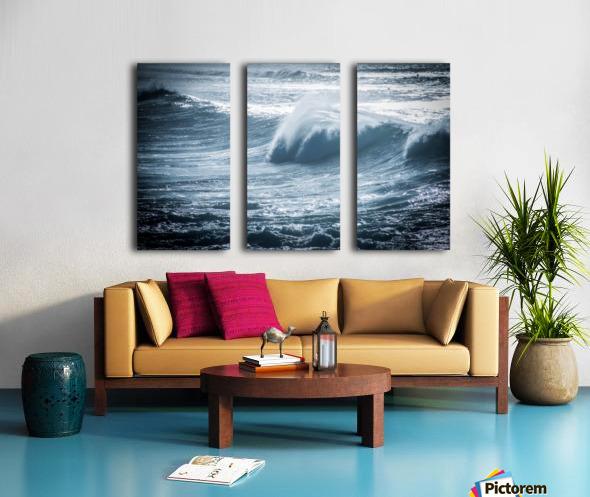 Wave Split Canvas print