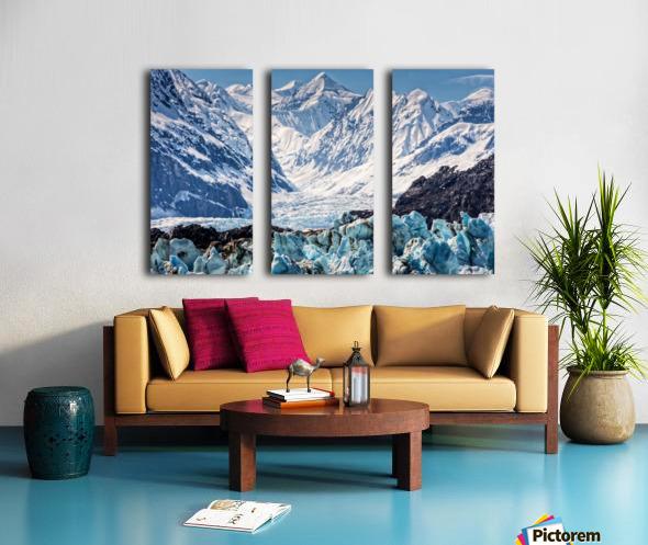 Glacier Split Canvas print