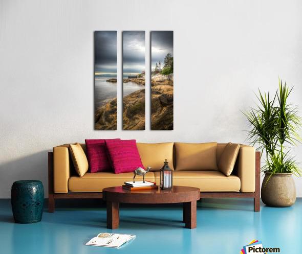 Lighthouse Split Canvas print