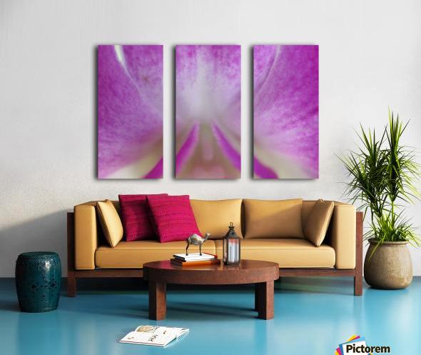 purpletongue2 Split Canvas print